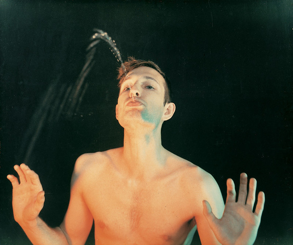 Bruce Nauman – Self-Portrait as a Fountain, 1966. The Whitney Museum.